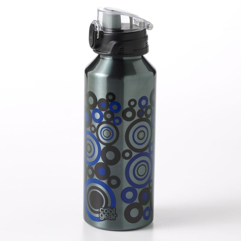 Cool Gear 32-oz. Circle Stainless Steel Water Bottle