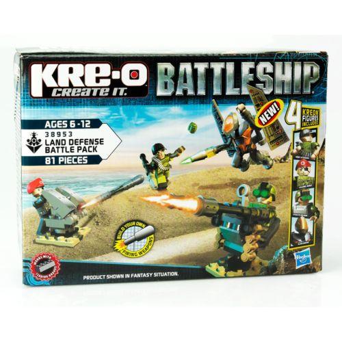 KRE-O Battleship Land Defense Battle Pack Set by Hasbro
