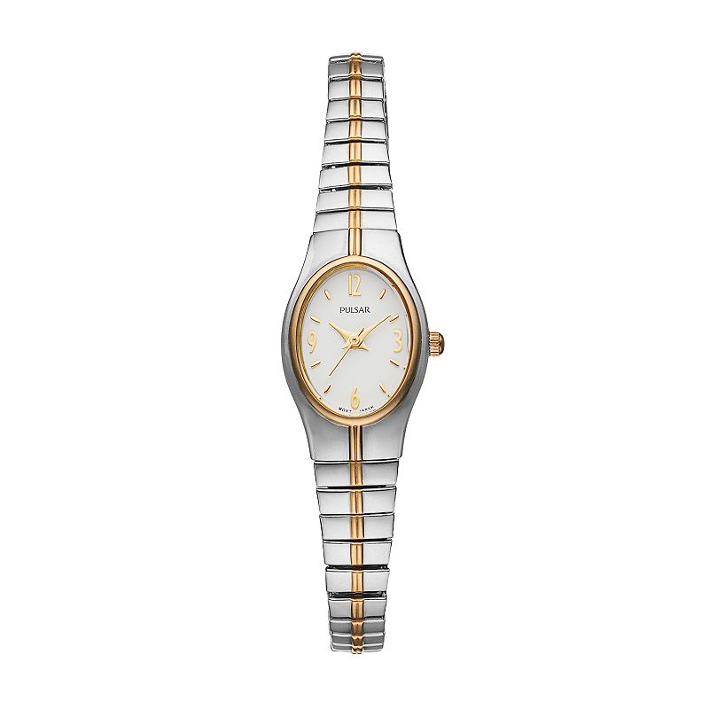 Pulsar Women's Two Tone Stainless Steel Expansion Watch - PC3092