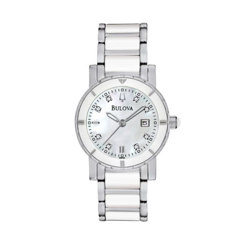 Bulova Watch - Women's Highbridge Substantial Stainless Steel - 98P121