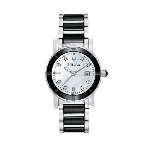 Bulova Watch - Women's Highbridge Substantial Stainless Steel - 98P122