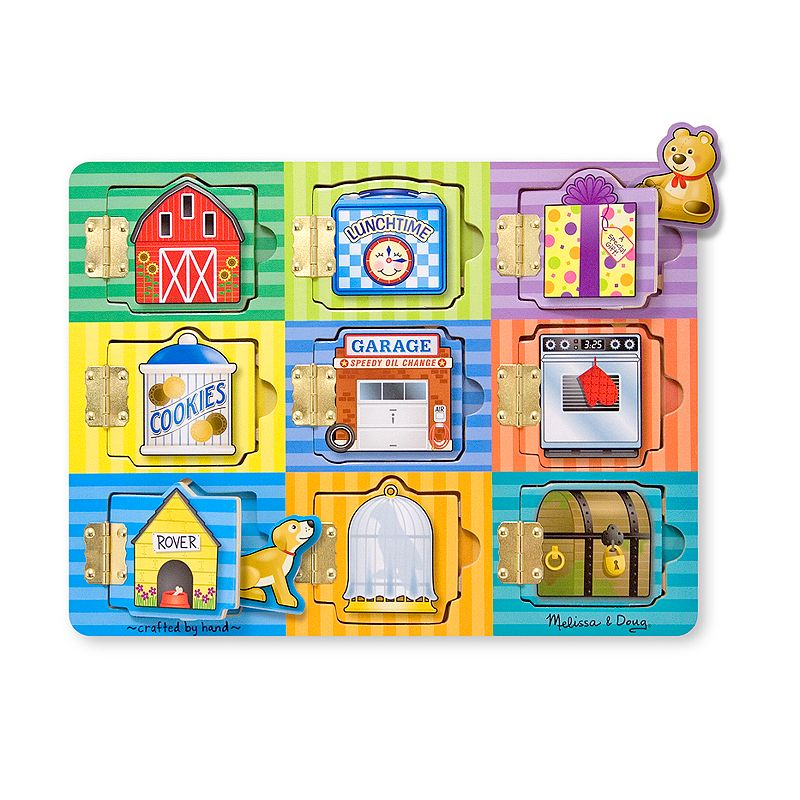 Melissa and Doug Magnetic Hide and Seek Board