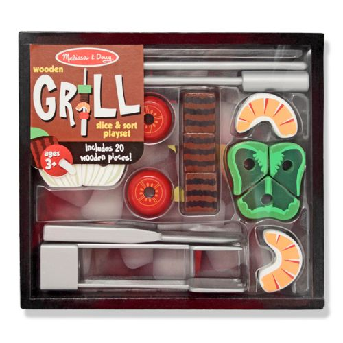 Melissa and Doug Grill Slice and Sort Playset