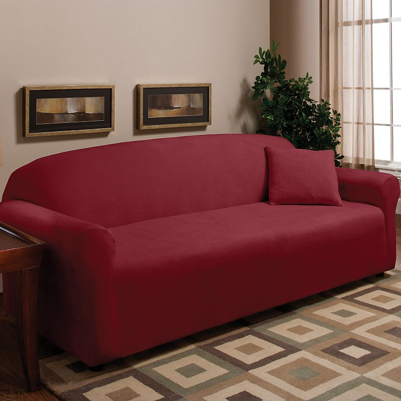 Madison Fleece Sofa Slipcover Dealtrend