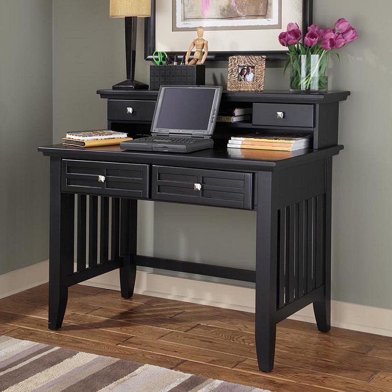 arts and crafts student desk with hutch. Black Bedroom Furniture Sets. Home Design Ideas