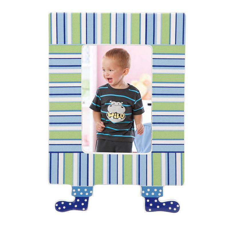 Merry Go Round Little Boy Blue Striped 4 x 6 Frame