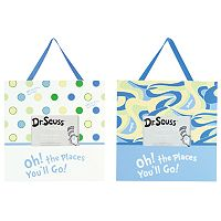 Dr. Seuss Oh! the Places You'll Go! Frame Set by Trend Lab - Blue