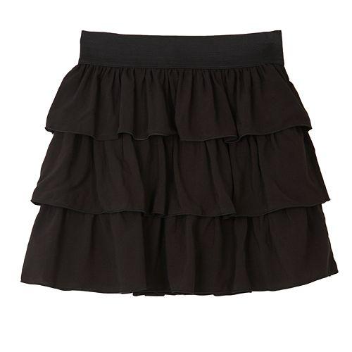 Girls 7-16 IZ Amy Byer Tiered Skirt