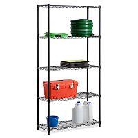 Honey-Can-Do 5-Tier Adjustable Storage Shelving Unit