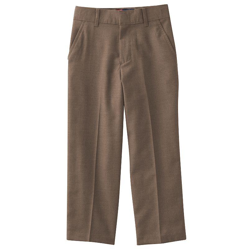 Chaps Gabardine School Uniform Dress Pants - Boys 4-7x