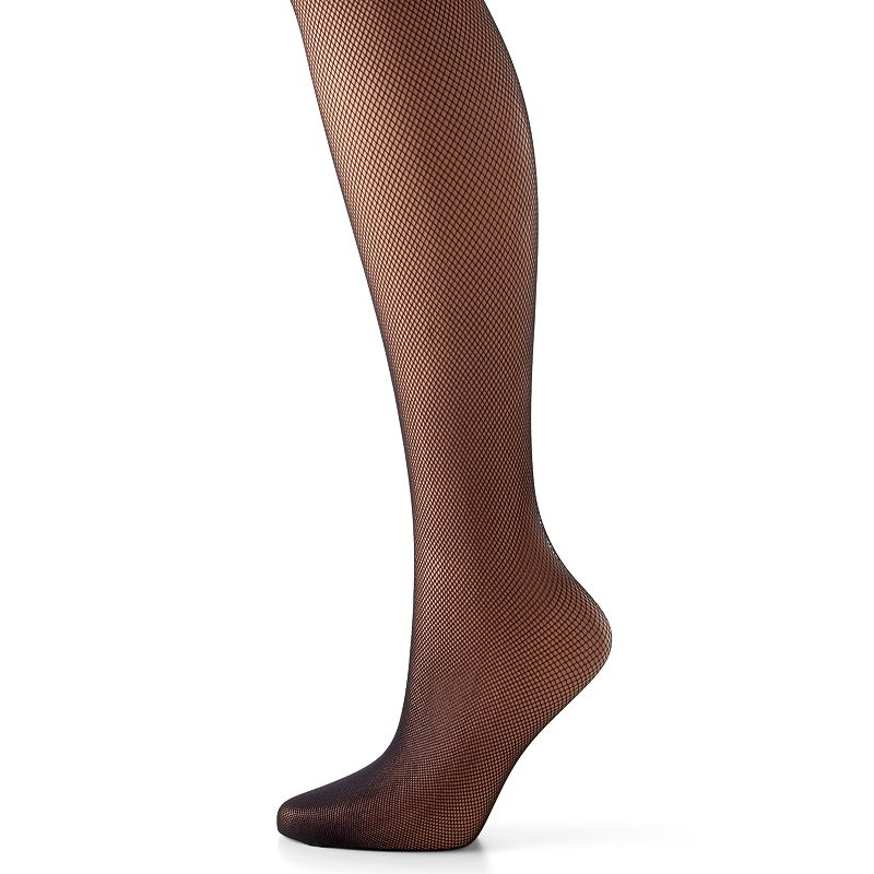 Hanes Silk Reflections Tulle Net Sheer-to-Waist Tights
