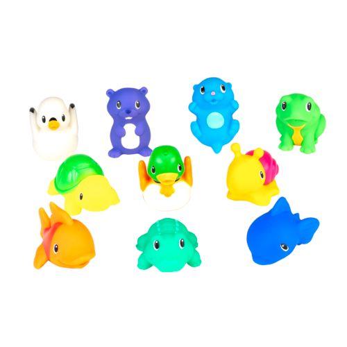 Munchkin Squirtin' Lake Buddies Bath Toy Set