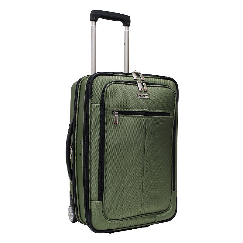 Traveler's Choice Siena 21-Inch Hybrid Wheeled Carry-On & Garment bag, Men's, Size: 21