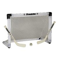 Franklin NHL Mini Hockey Light-Up Goal Set