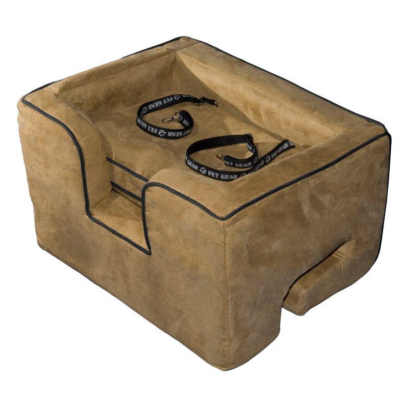 Pet Gear Booster Car Seat - Large, Brown