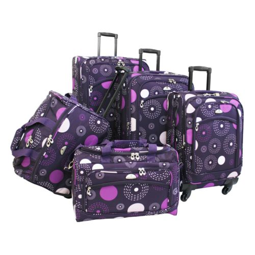 American Flyer Luggage, 5-pc. Fireworks Luggage Set