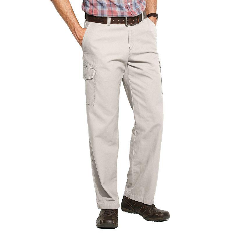 Men's Croft & Barrow® Canvas Flat-Front Cargo Pants
