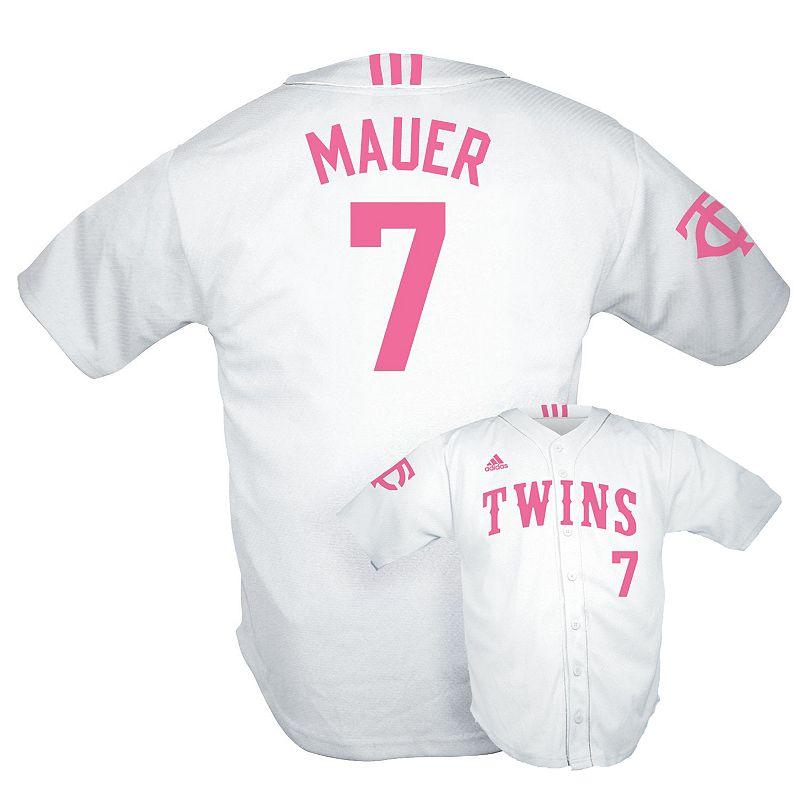 Girls 7-16 adidas Minnesota Twins Joe Mauer Jersey