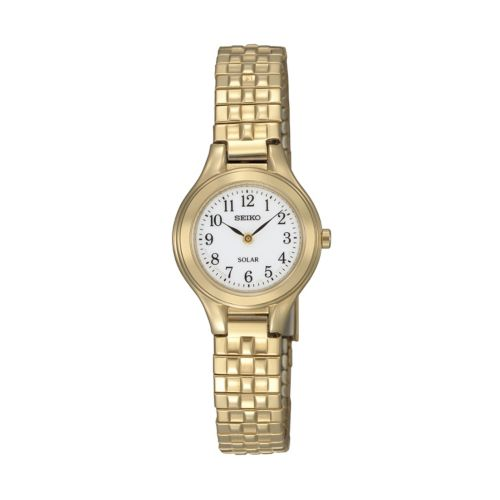 Seiko Women's Stainless Steel Solar Expansion Watch