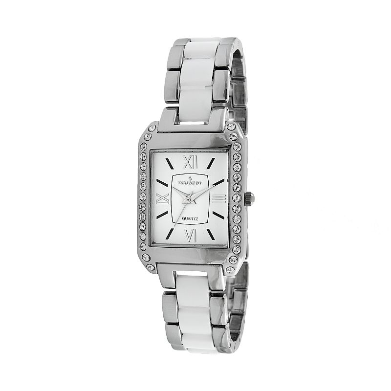 Peugeot Women's Crystal Watch - 7074WT