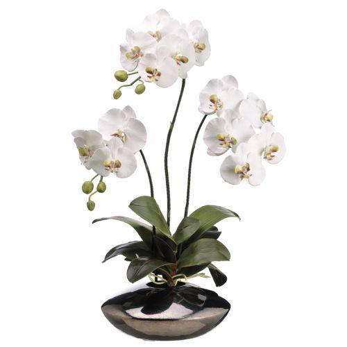 31-in. Artificial Orchid Floral Arrangement
