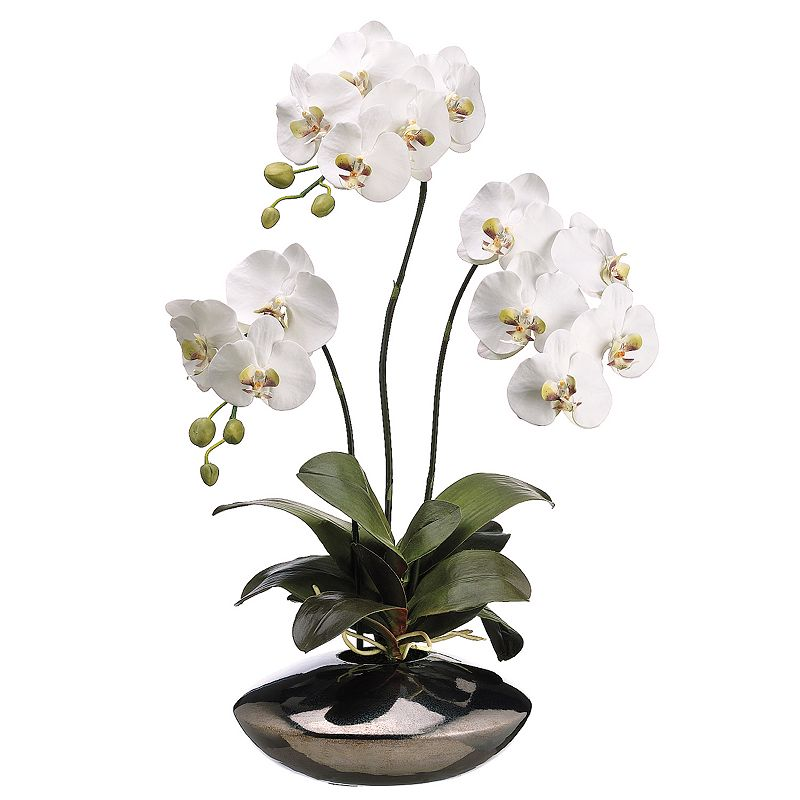 31-in. Artificial Orchid Floral Arrangement