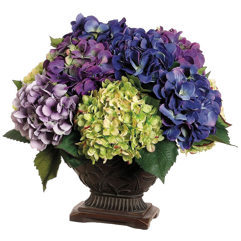 16-in. Artificial Hydrangea Floral Arrangement