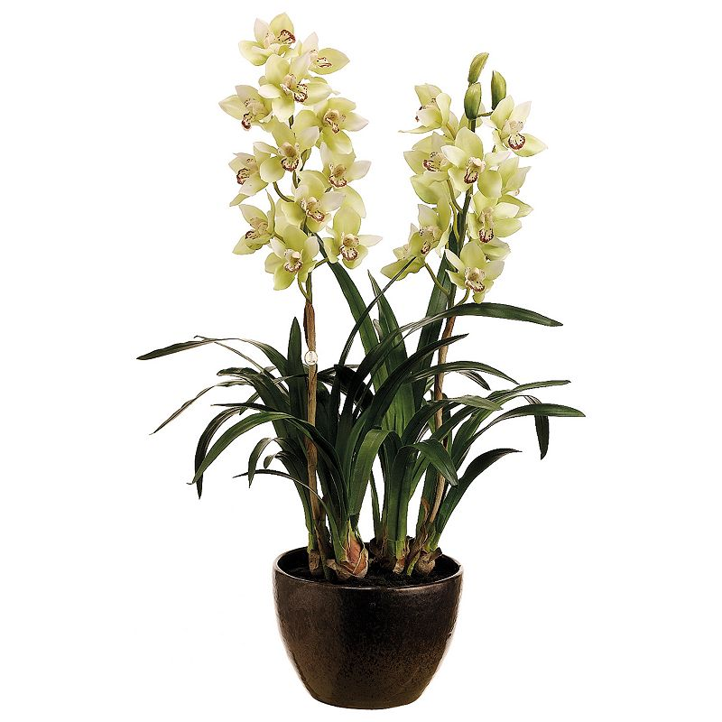 34-in. Artificial Cymbidium Floral Arrangement