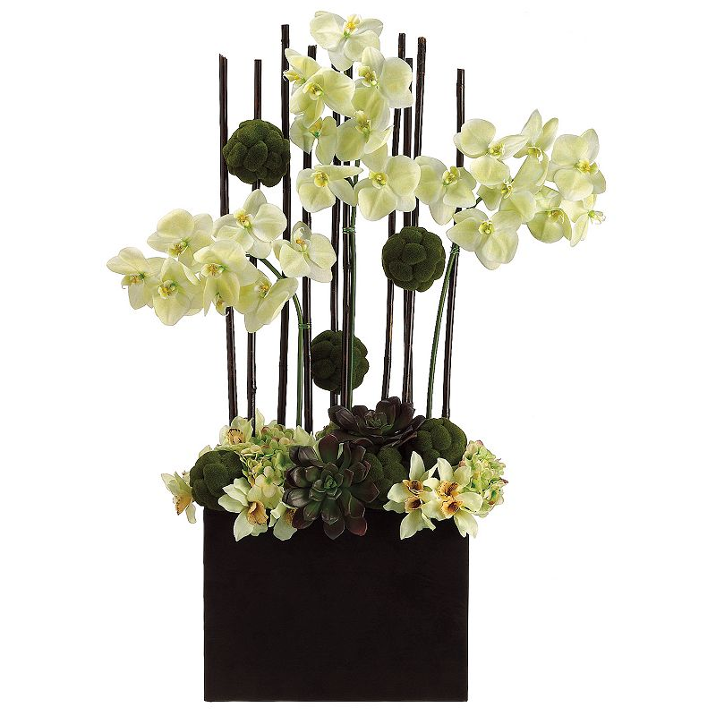 39-in. Artificial Orchid And Moss Floral Arrangement