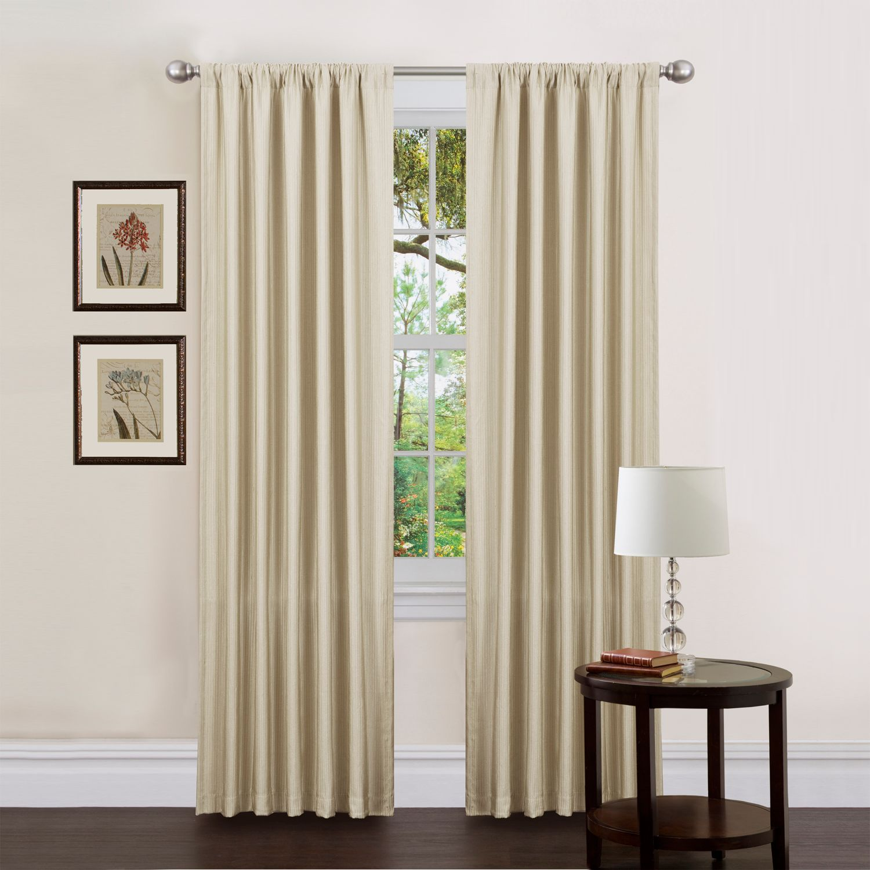 Decorative Window Panels : Lush decor luis window panel pair quot
