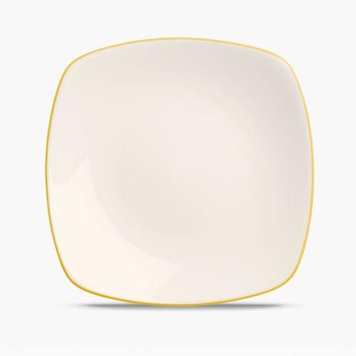 Noritake Colorwave Mustard Square Salad Plate
