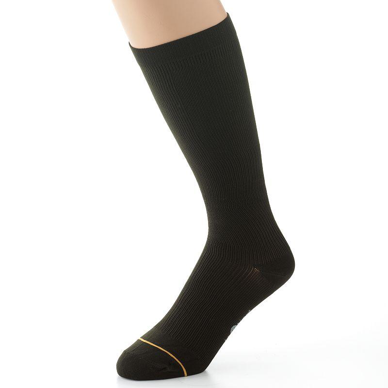 Men's GOLDTOE SoleUtion Firm Compression Crew Socks