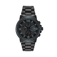 Citizen Eco-Drive Men's Nighthawk Stainless Steel Chronograph Watch - CA0295-58E