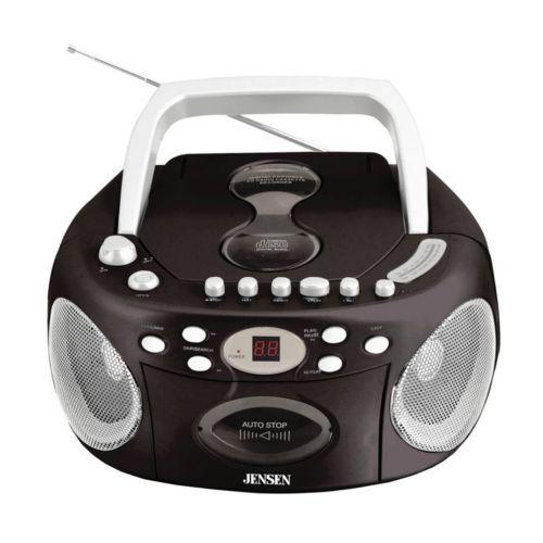 Jensen Portable CD Radio with Cassette Recorder