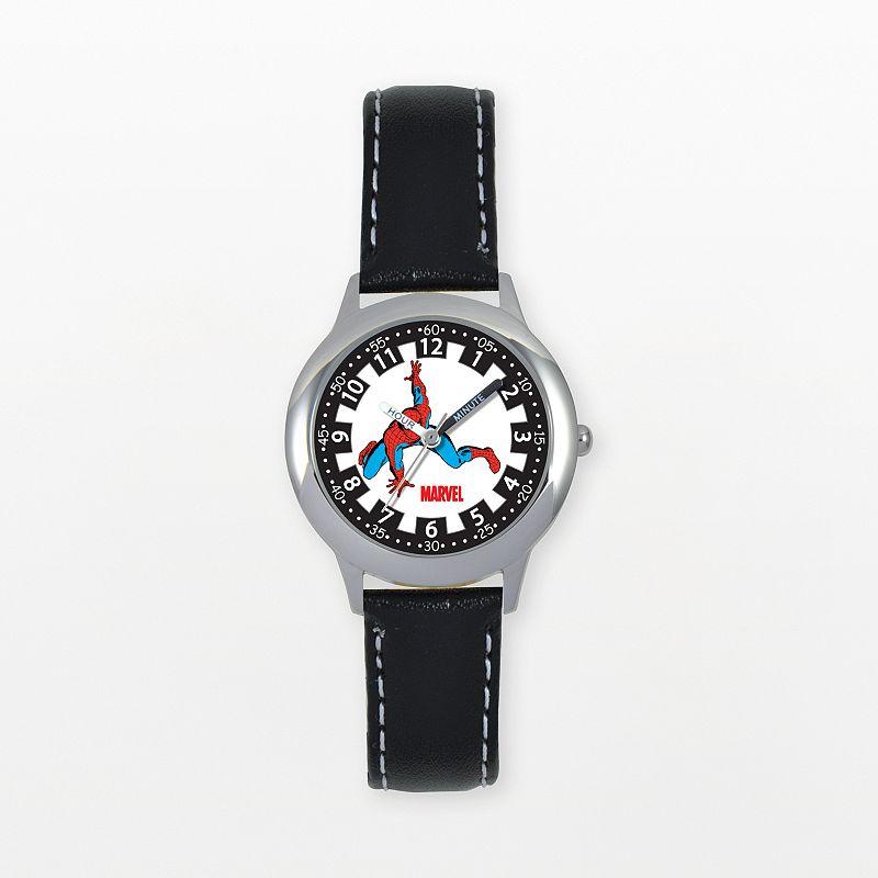 Marvel Spider-Man Time Teacher Stainless Steel Watch