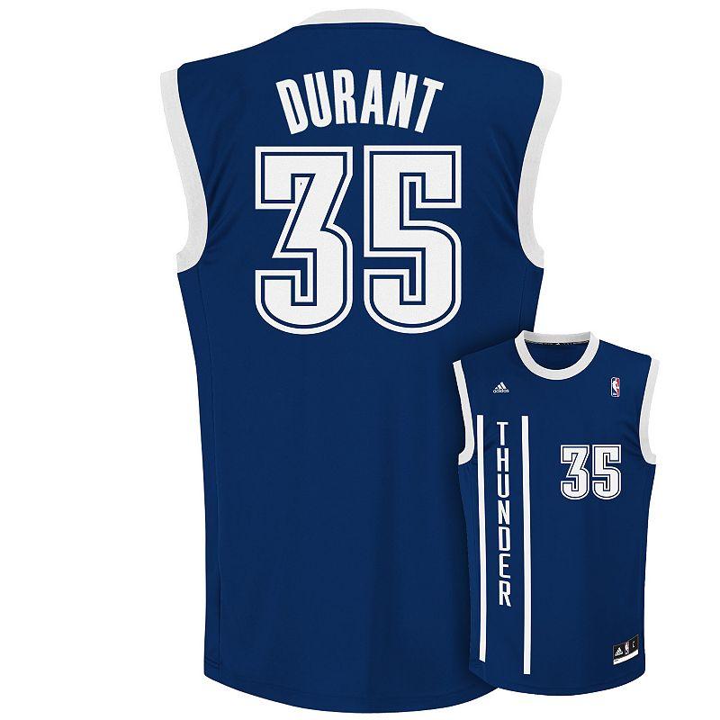 Men's adidas Oklahoma City Thunder Kevin Durant NBA Jersey