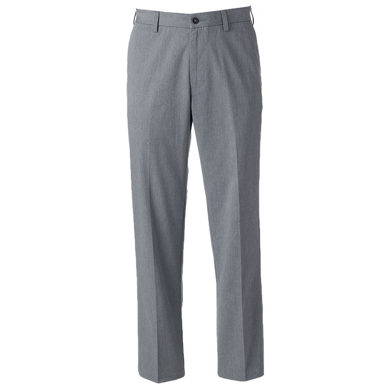 Men's Croft & Barrow® Straight-Fit Easy-Care Flat-Front Pants