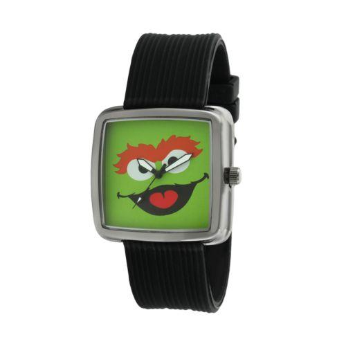 Sesame Street Oscar the Grouch Silver Tone Watch - SW4925OS - Kids