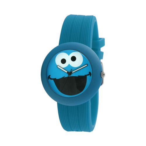 Sesame Street Cookie Monster Blue Watch - SW614CM - Kids