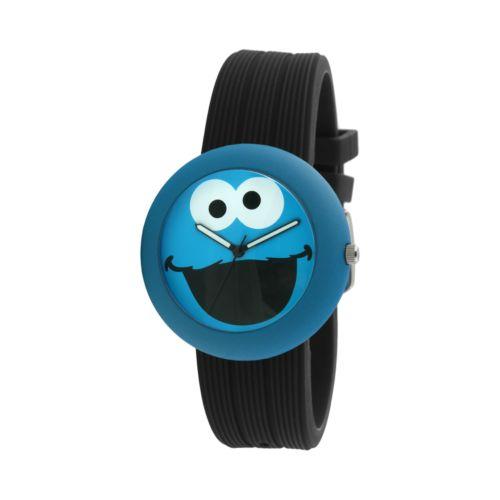Sesame Street Cookie Monster Blue & Black Watch - SW614CM1 - Kids