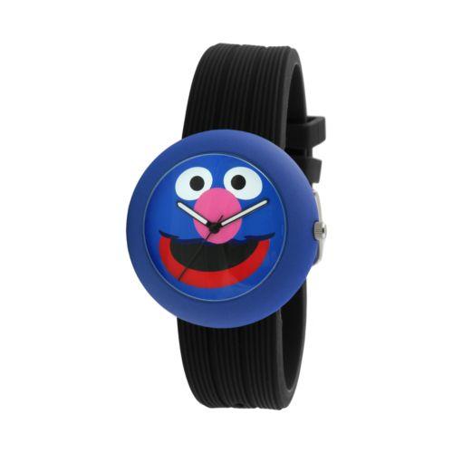 Sesame Street Grover Blue & Black Watch - SW614GR1 - Kids
