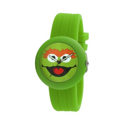 Sesame Street Oscar the Grouch Green Watch - SW614OS - Kids