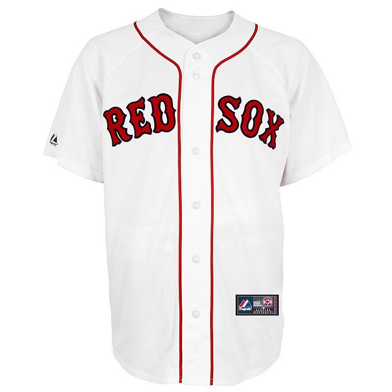 Big & Tall Majestic Boston Red Sox MLB Jersey