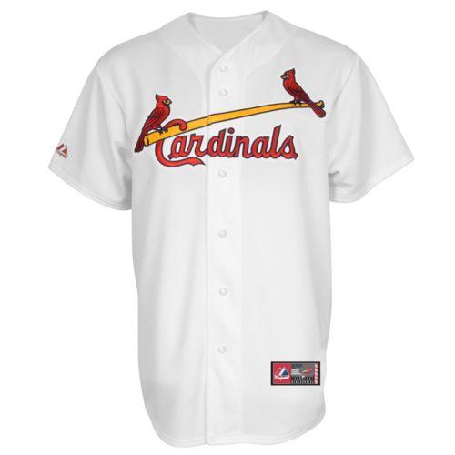 Big & Tall Majestic St. Louis Cardinals MLB Jersey