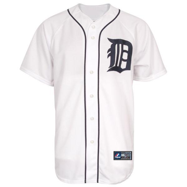 Big & Tall Majestic Detroit Tigers Jersey