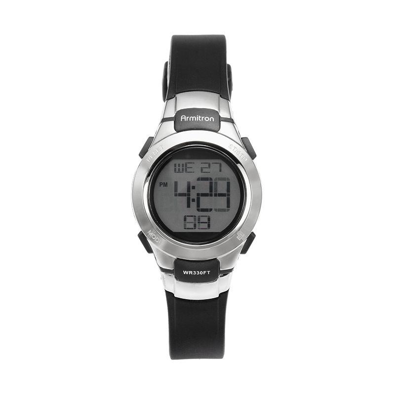 Armitron Women's Digital Chronograph Watch - 45/7012BLK