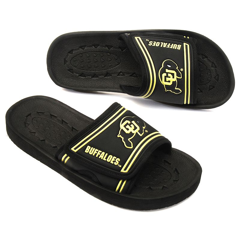 Adult Colorado Buffaloes Slide Sandals