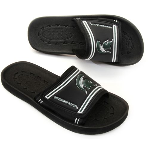 Michigan State Spartans Slide Sandals - Adult