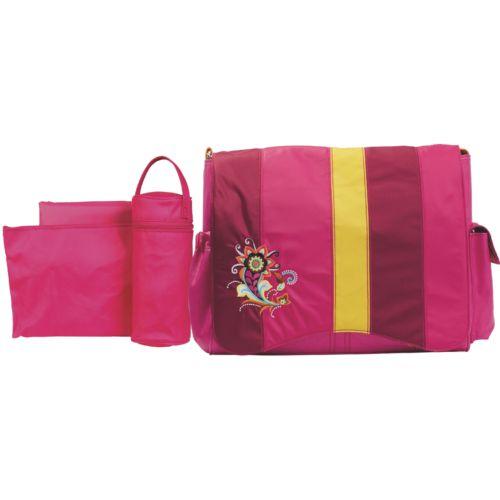 Kalencom Jazz Berry Blocks Diaper Bag Set