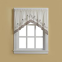 CHF Bird Swag Curtain Pair